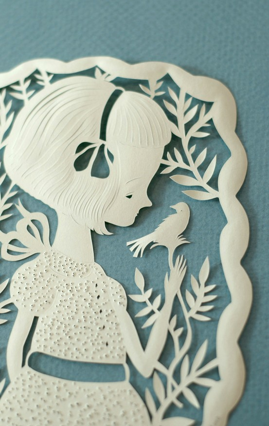 beautiful elsa mora papercutting meandyoulookbook