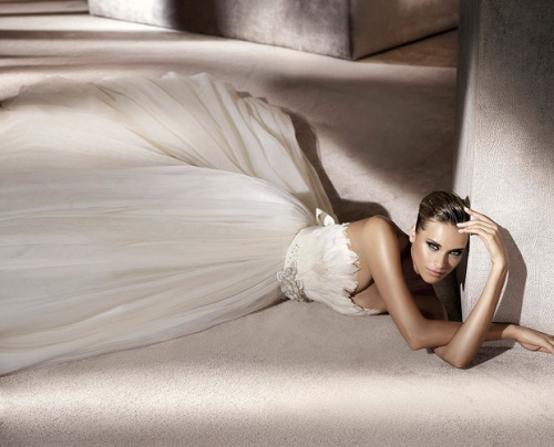 Pronovias Presents The Stunning 2018 Preview Collections: Manuel Mota For Pronovias 2012 Bridal Collection