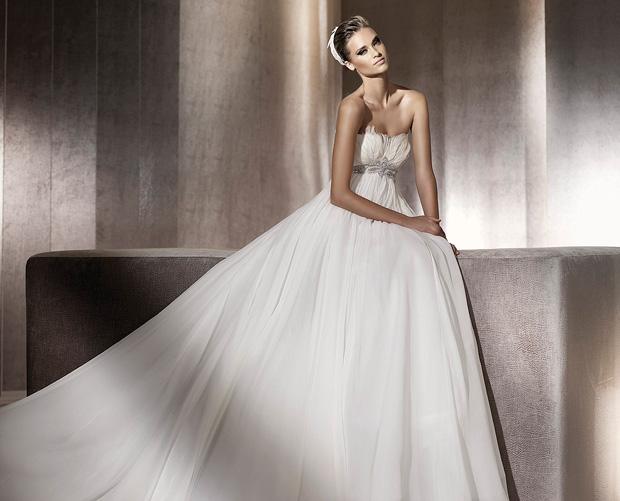 Manuel Mota For Pronovias 2012 Bridal Collection
