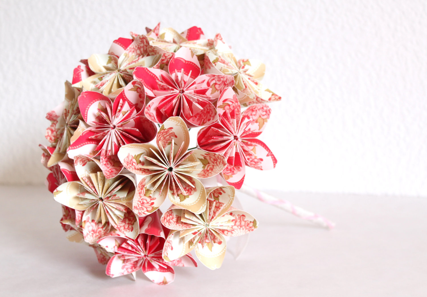 Everlasting Origami Paper Flower Bouquet Meandyoulookbook