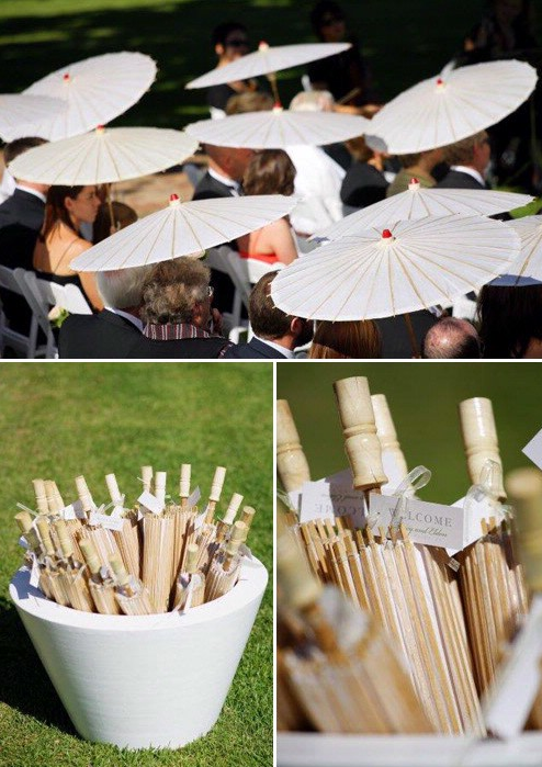Stylish Paper Parasols