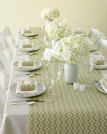 Here 39s a quick and inexpensive way to add style to your reception tables