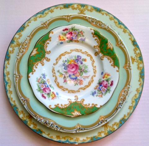 Idea useful Antique vintage china dishes set