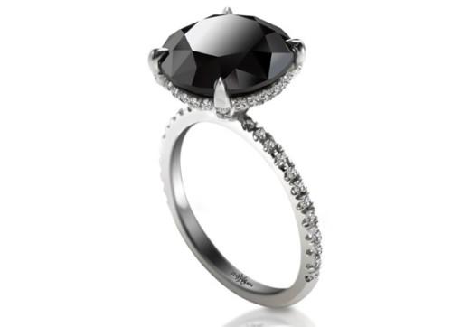 Black Diamond Ring Big Gave Carrie