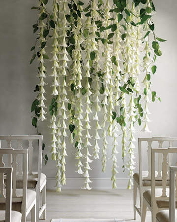 Wedding Garland With St. Joseph's Lilies | meandyoulookbook