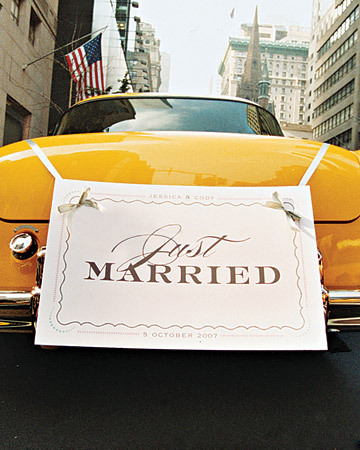 Wedding car decorations meandyoulookbook - Just married decorations for car ...