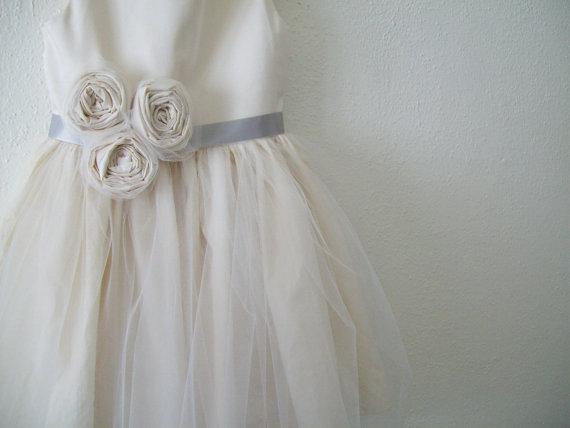 Flower Girl Dress Custom Made For You The Grace Flower Girl Dress