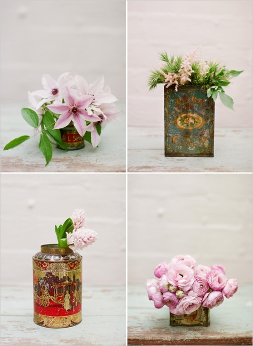 Tin Can Floral Arrangements Meandyoulookbook