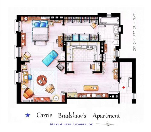 carrie_bradshaw_apartment_from_sex_and_the_city_by_nikneuk-d5c9qoy